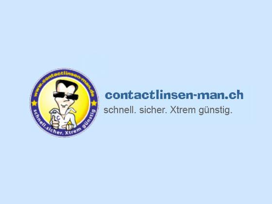 Contactlinsen-Man